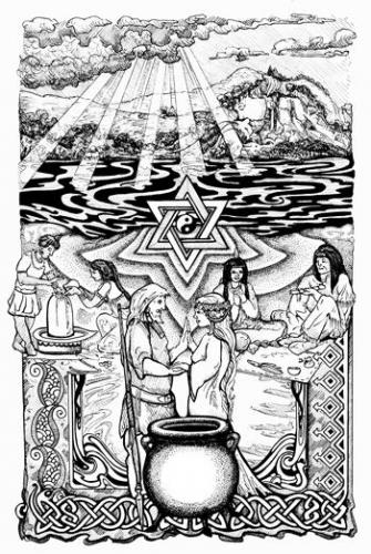 Illustrated Shamanic Teachings - Sacred Union